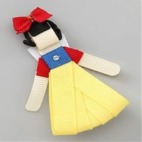 Snow White Princess Hair Bow