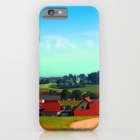 Peaceful farmland on a sunny afternoon iPhone & iPod Case by Patrick Jobst