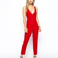 ASOS Jumpsuit with Bow Back