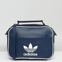 adidas Originals Mini Airliner Bag In Navy at asos.com