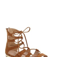 Women's Topshop Lace-Up Gladiator Sandal,