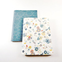 Cute Notebooks | Travel Jotters | Mini Notebooks | Pocket Journals | Cahiers | Unlined Notebooks | Pocket Notebooks | Blank Floral Notebook