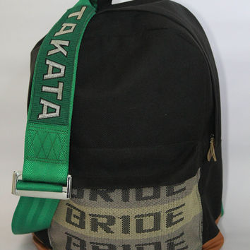 "! ""JDM-ware"" Bride & Takata Harness Backpack Laptop bag (in stock)"