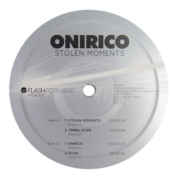 Onirico: Stolen Moments Vinyl 12""