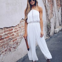 Secluded Beach Halter Jumpsuit