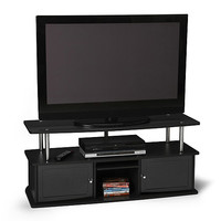 """Walmart: TV Stand with Three Cabinets, for TVs up to 50"""""""