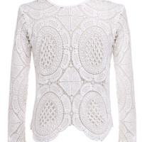 Tailor Lace Blouse