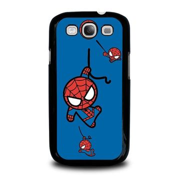 spiderman kawaii marvel avengers samsung galaxy s3 case cover  number 1