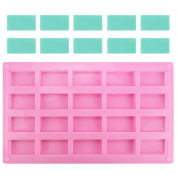 Mini Flat Candy Bar Silicone Mold