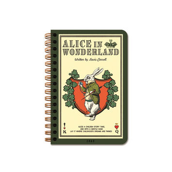 Twinring Line Note Pocket - Alice