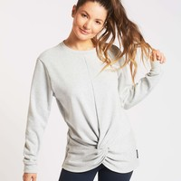 Michi Farfalla Sweatshirt - Heather Grey