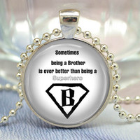 Inspiring Necklace,Saying jewelry,superhero pendant,words quotes Necklace (XL24)