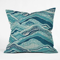 Hike With Me Outdoor Throw Pillow Rosebudstudio