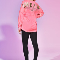 Varsity Crew & Legging Set - PINK - Victoria's Secret