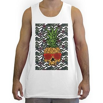 Function -  Pineapple Skull Men's Fashion Tank Top