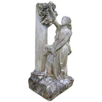 18th Century Carved Carrara Marble Garden Sculpture