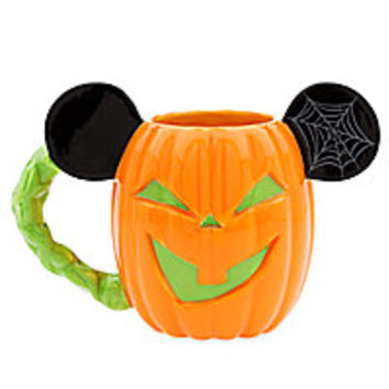 Mickey Mouse Pumpkin Halloween Mug