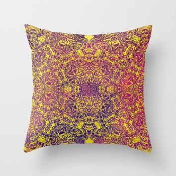 Magic 29 Throw Pillow by jbjart