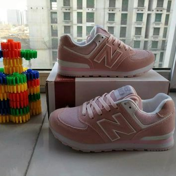 New Balance Fashion Casual All-match N Words Breathable Female Sneakers Running Shoes