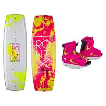 Ronix Krush Womens Wakeboard With Luxe Bindings 2015 134cm\8-10