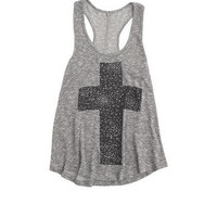 Metallic Cross Tank