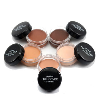 Professional Foundation Pallette Hide Dark Circles Brighten Moisturing Concealer Face Cream Women Primer De Maquiagem