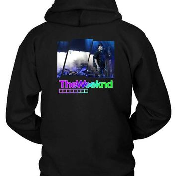 DCCKG72 The Weeknd Concert Hoodie Two Sided