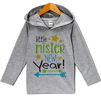 Little Mister New Year - Baby Boy's Hoodie