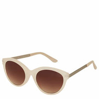 Metal Arm Cateye Sunglasses