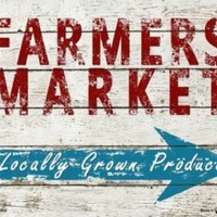 Farmers Market Locally Grown Produce Front Porch Garden Decorative Sign