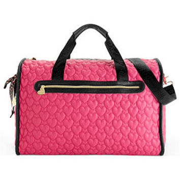 Betsey Johnson Handbag, Quilted Weekender - Sale & Clearance - Handbags & Accessories - Macy's