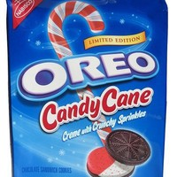 NABISCO CANDY CANE OREO COOKIES