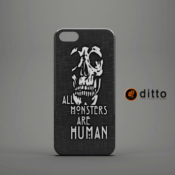 AHS MONSTERS HUMAN Design Custom Case by ditto! for iPhone 6 6 Plus iPhone 5 5s 5c iPhone 4 4s Samsung Galaxy s3 s4 & s5 and Note 2 3 4