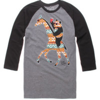 Riot Society Tribal Party Animal Raglan Tee at PacSun.com