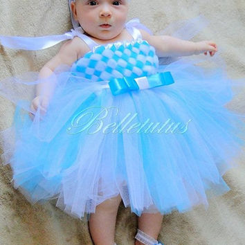 Turquoise tutu – woven tutu dress – girl tutu dress – baby tutu dress – wedding tutu dress – party tutu dress – birthday tutu dress