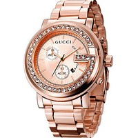 GUCCI men and women fashion trend quartz watch watches F