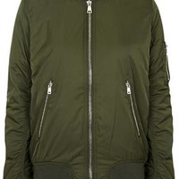 TALL MA1 Bomber Jacket - Khaki