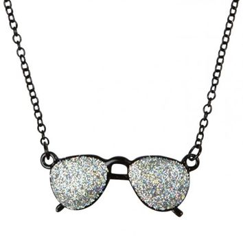 Glitter Sunglasses Necklaces | Girls Jewelry Accessories | Shop Justice