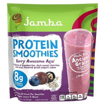 Jamba Berry Awesome Acai Protein Smoothies 8 oz