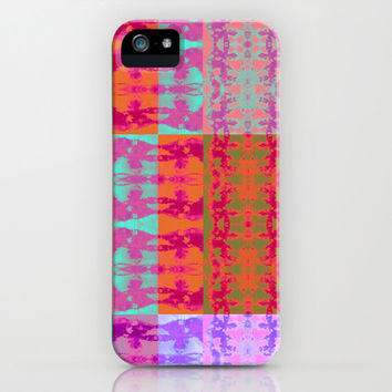 Tie Dye Quilt iPhone & iPod Case by Nina May
