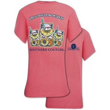 Southern Couture Preppy Sweeter In The South T-Shirt