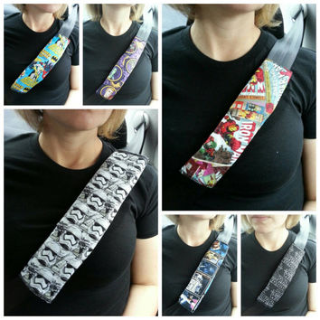 Geekery seatbelt covers
