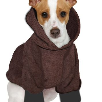 Jack Russel/Pom/Rat Terrier Hoodie Sweatshirt - Fits 9 to 12 LB Dog - Over 10 Patterns to Choose From!