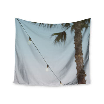 "Kristi Jackson ""Summer Nights"" Coastal Green Wall Tapestry"