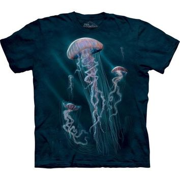 DCCK8UT Jellyfish in Water Kids T-Shirt