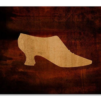 Shoe Fashion II Print Wall Art