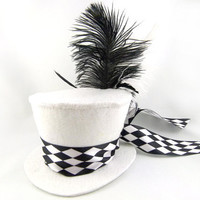 The White Queen's Mini Top Hat Made to Order by angelyques