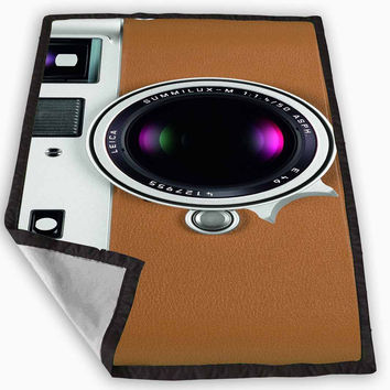 Leica M9-P Camera Blanket for Kids Blanket, Fleece Blanket Cute and Awesome Blanket for your bedding, Blanket fleece *