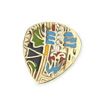 Mayan Brass Guitar Pick | Metal Guitar Picks