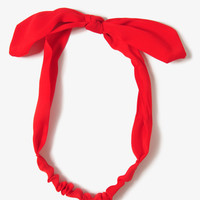 Structured Bow Headwrap